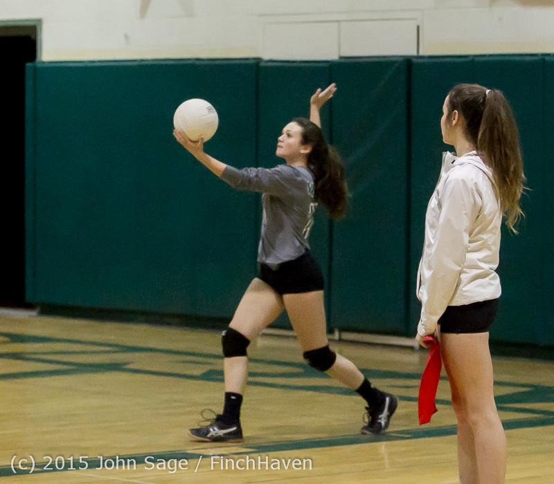 9558 Varsity Volleyball v Crosspoint 102315