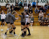 9568 Varsity Volleyball v Crosspoint 102315