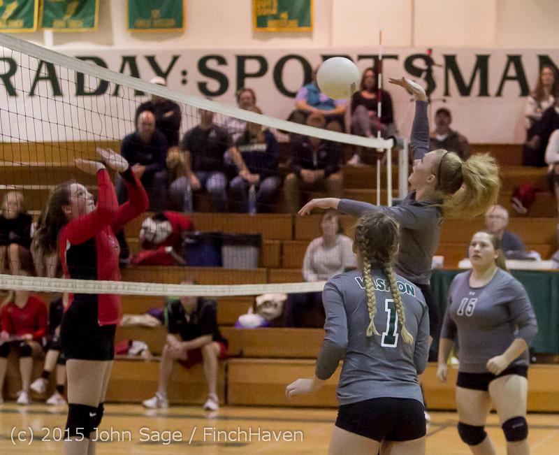 9579 Varsity Volleyball v Crosspoint 102315