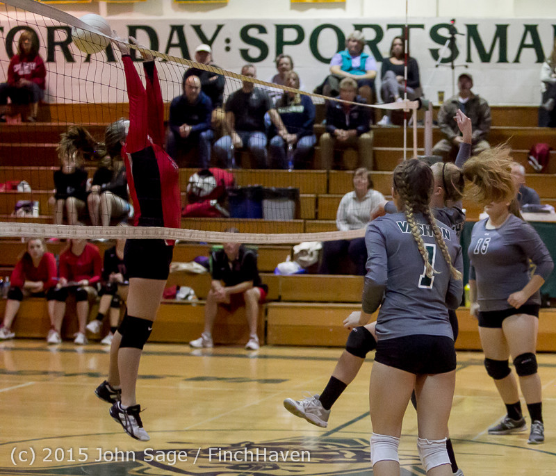 9580 Varsity Volleyball v Crosspoint 102315