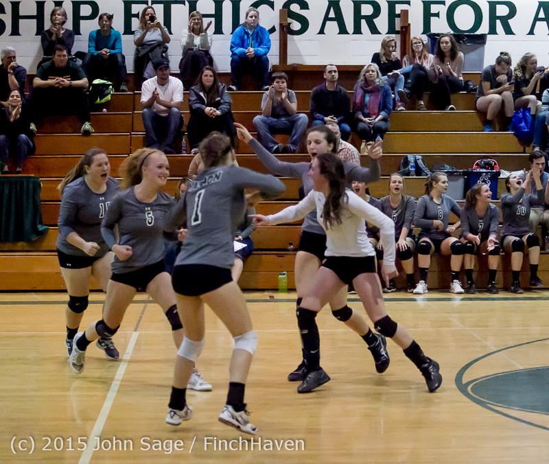 9588 Varsity Volleyball v Crosspoint 102315