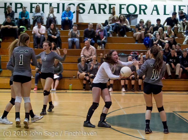 9614 Varsity Volleyball v Crosspoint 102315