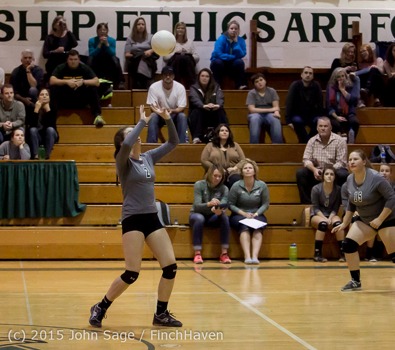 9638 Varsity Volleyball v Crosspoint 102315