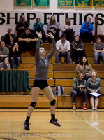 9640 Varsity Volleyball v Crosspoint 102315
