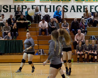 9645 Varsity Volleyball v Crosspoint 102315