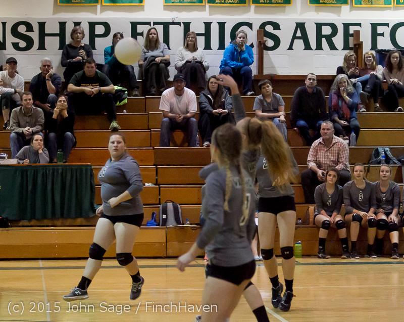 9645 Varsity Volleyball v Crosspoint 102315
