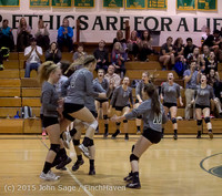 9656 Varsity Volleyball v Crosspoint 102315
