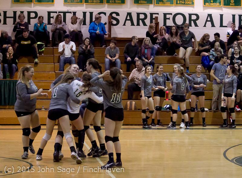 9680 Varsity Volleyball v Crosspoint 102315