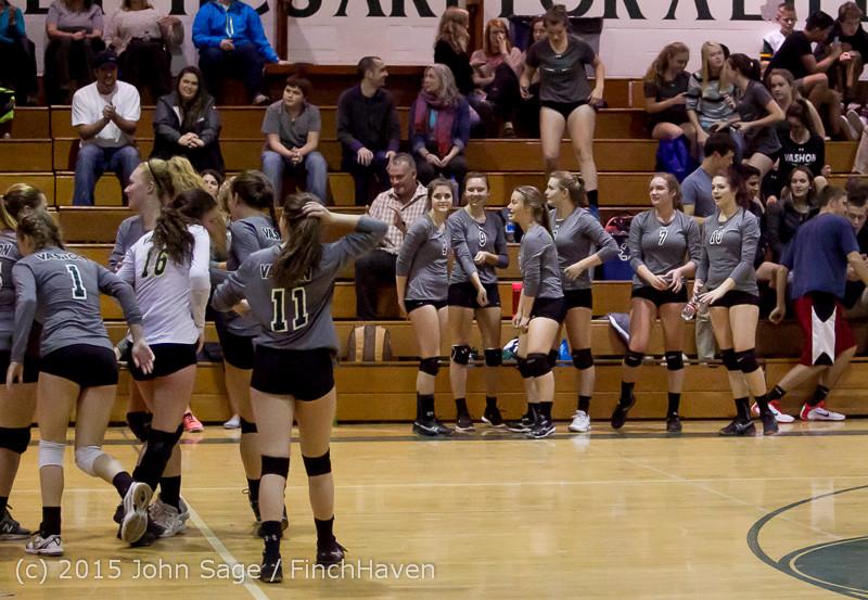 9686 Varsity Volleyball v Crosspoint 102315
