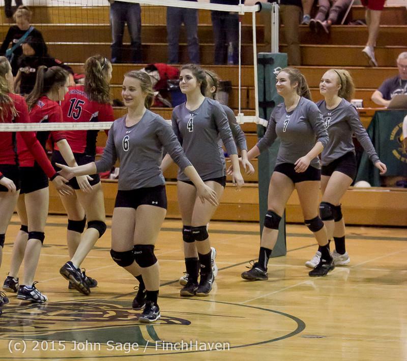 9742 Varsity Volleyball v Crosspoint 102315