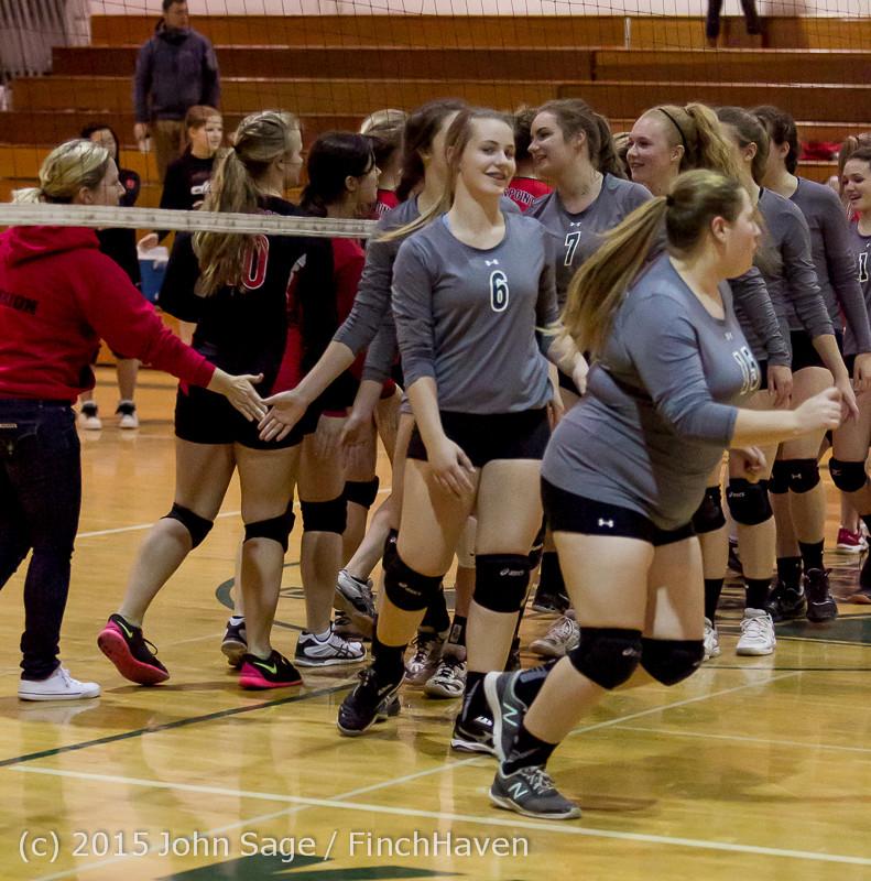 9761 Varsity Volleyball v Crosspoint 102315