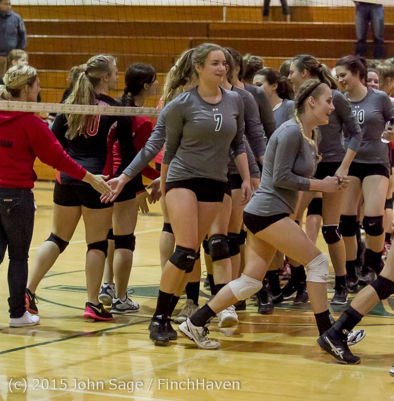 9767 Varsity Volleyball v Crosspoint 102315
