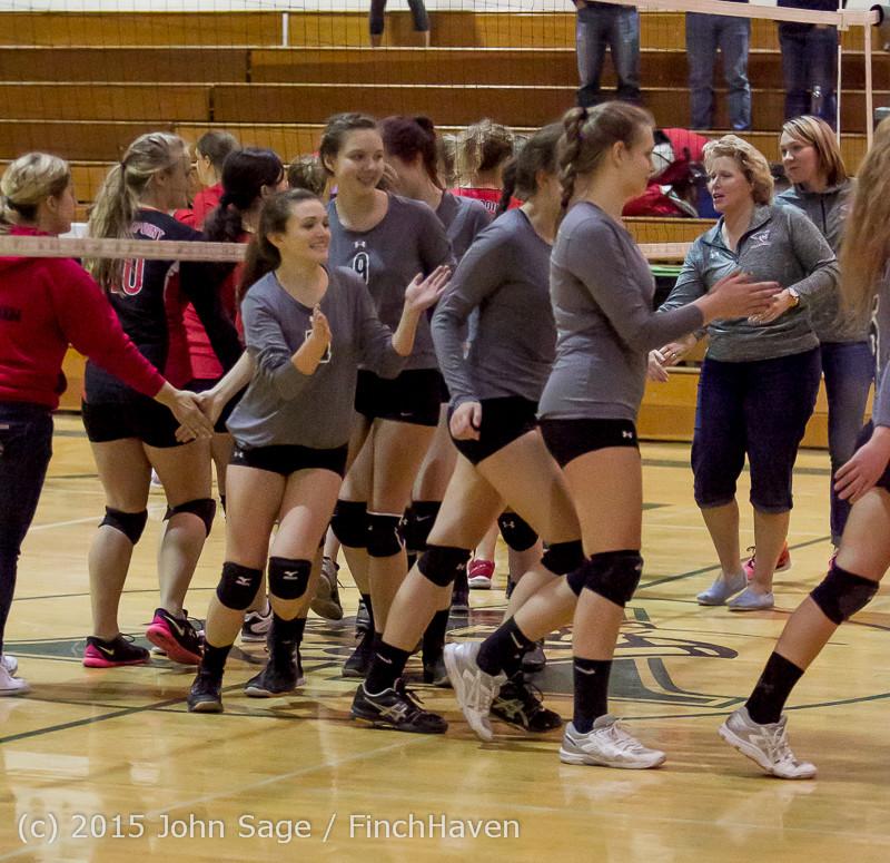 9776 Varsity Volleyball v Crosspoint 102315