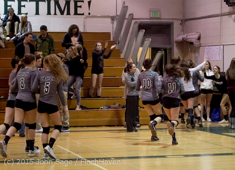 9789 Varsity Volleyball v Crosspoint 102315