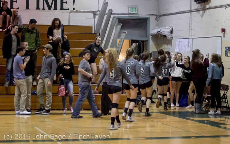 9797 Varsity Volleyball v Crosspoint 102315