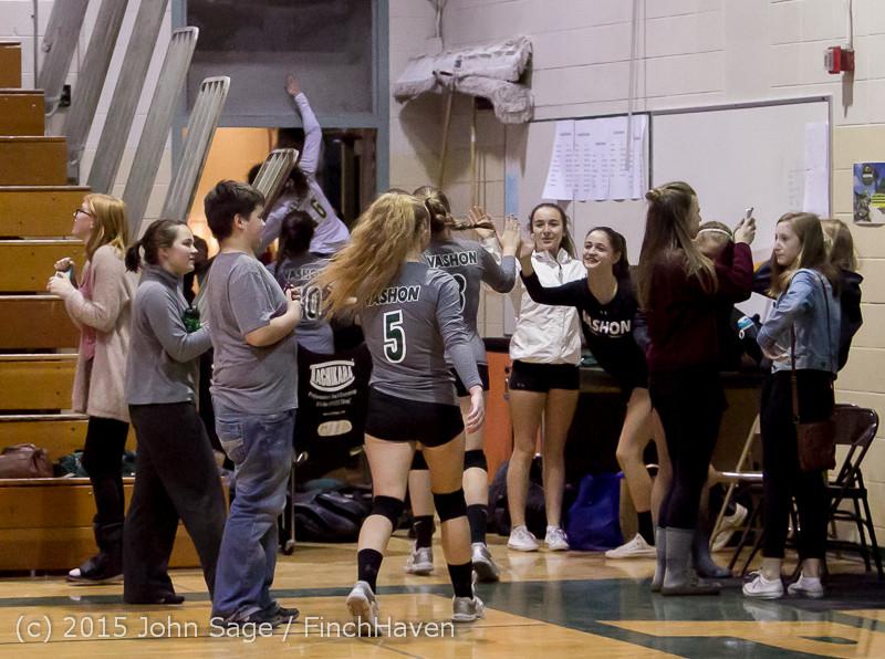 9806 Varsity Volleyball v Crosspoint 102315