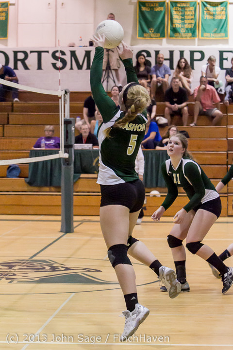 19552 Volleyball v Eatonville 091113