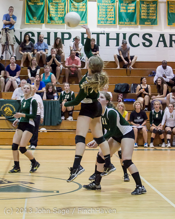 20078 Volleyball v Eatonville 091113
