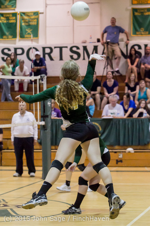 20173 Volleyball v Eatonville 091113