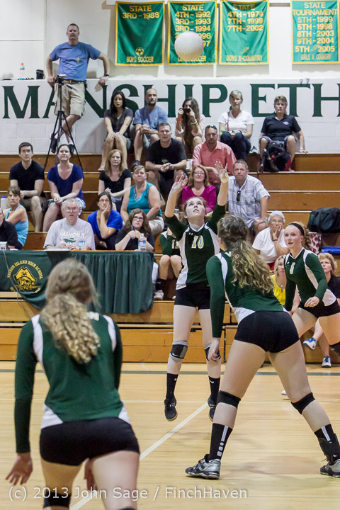 20182 Volleyball v Eatonville 091113