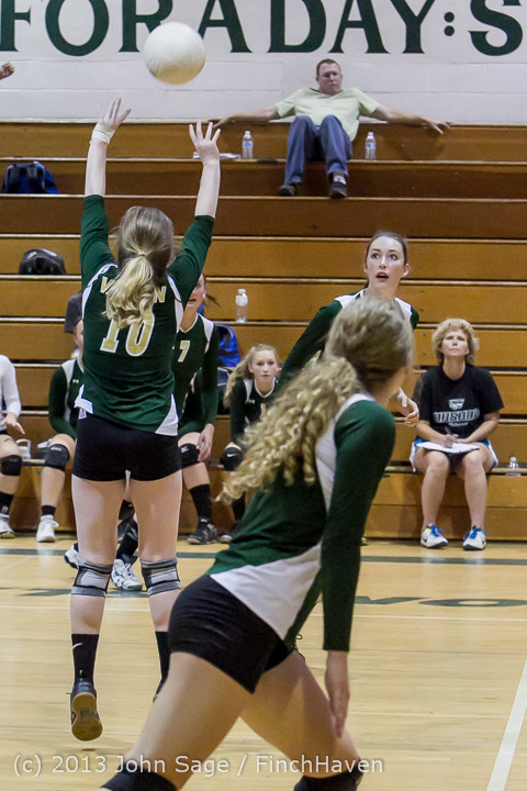 20458 Volleyball v Eatonville 091113