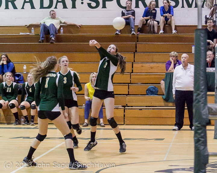 20554 Volleyball v Eatonville 091113