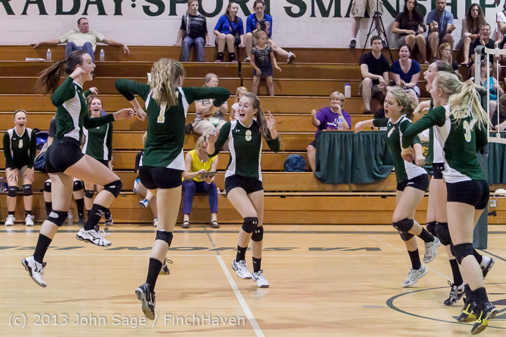 20625 Volleyball v Eatonville 091113