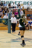 20695 Volleyball v Eatonville 091113