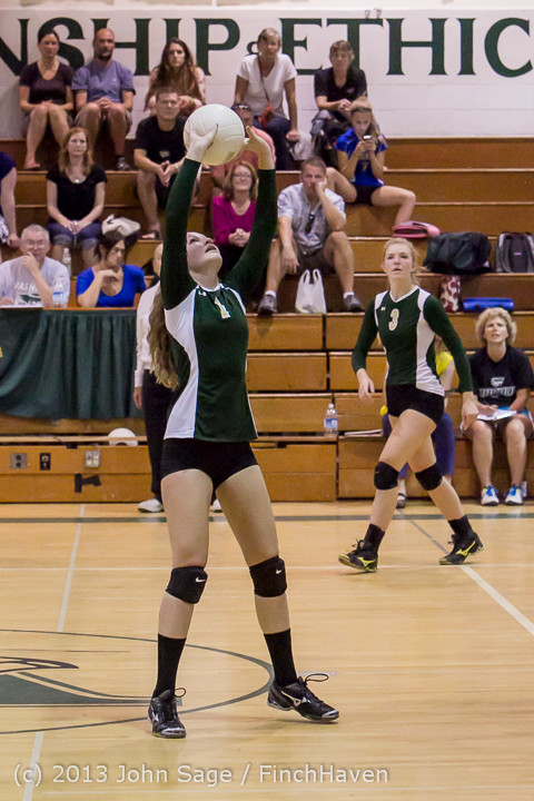 21458 Volleyball v Eatonville 091113