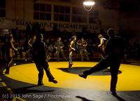 1645 Wrestling v Belle-Chr 011515