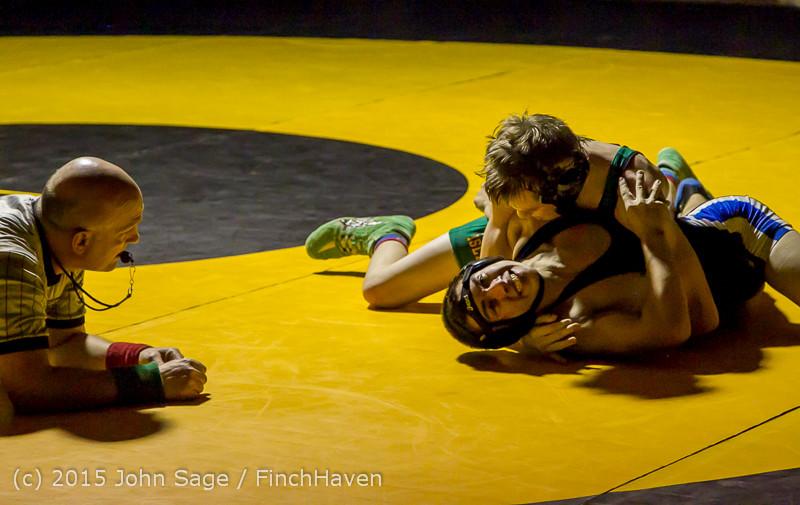 2617 Wrestling v Belle-Chr 011515