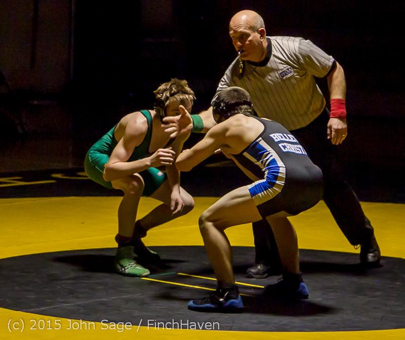 2693 Wrestling v Belle-Chr 011515