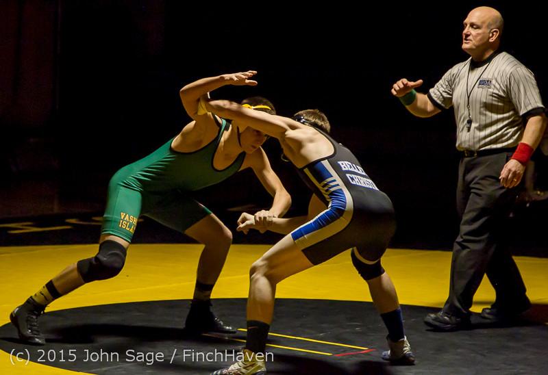 2878 Wrestling v Belle-Chr 011515