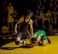 3134 Wrestling v Belle-Chr 011515