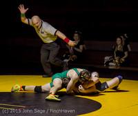 3305 Wrestling v Belle-Chr 011515