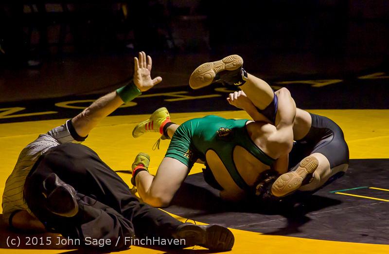 3445 Wrestling v Belle-Chr 011515