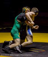 3791 Wrestling v Belle-Chr 011515