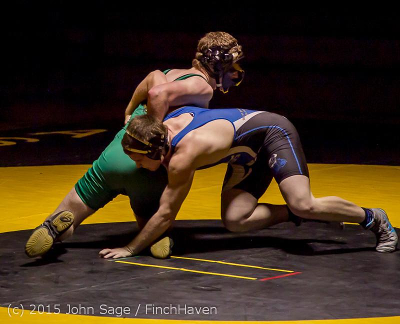 4216 Wrestling v Belle-Chr 011515