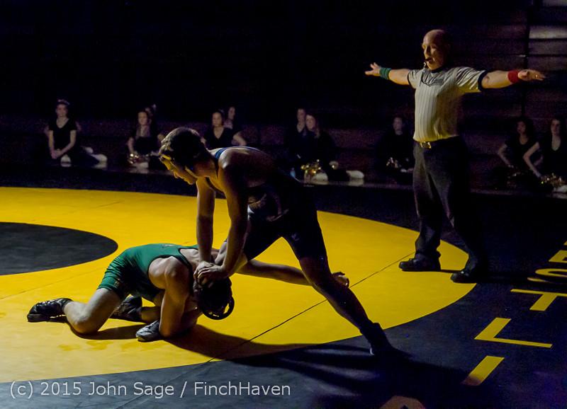 4255 Wrestling v Belle-Chr 011515