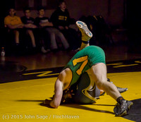 4305 Wrestling v Belle-Chr 011515
