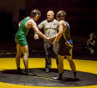 4464 Wrestling v Belle-Chr 011515