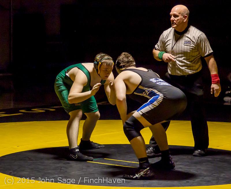 4572 Wrestling v Belle-Chr 011515