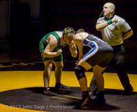 4734 Wrestling v Belle-Chr 011515