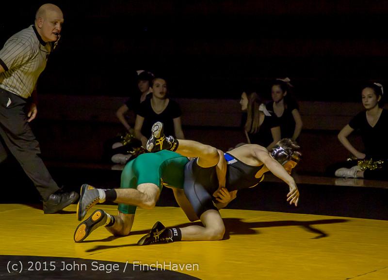 5037 Wrestling v Belle-Chr 011515