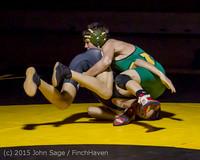 5167 Wrestling v Belle-Chr 011515