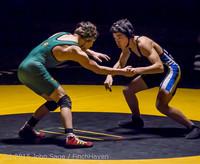 5186 Wrestling v Belle-Chr 011515