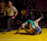 5236 Wrestling v Belle-Chr 011515