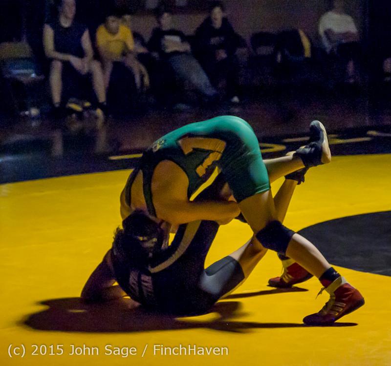 5420 Wrestling v Belle-Chr 011515