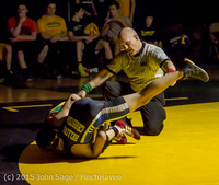 5444 Wrestling v Belle-Chr 011515