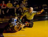 5445 Wrestling v Belle-Chr 011515